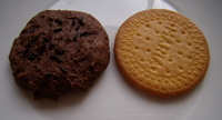 Biscuits, aliment contenant du calcium